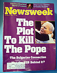 Newsweek Magazine - January 3, 1983 - Plot To Kill Pope