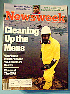 Newsweek Magazine - March 7, 1983 - Cleaning Up Mess