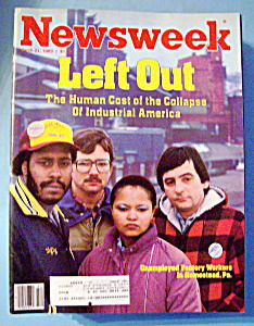 Newsweek Magazine - March 21, 1983 - Left Out