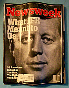 Newsweek Magazine - November 28, 1983 - Jfk