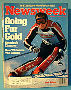 Newsweek Magazine - February 13, 1984 - Going For Gold