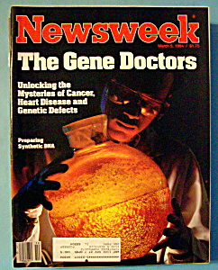 Newsweek Magazine - March 5, 1984 - Gene Doctors