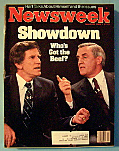 Newsweek Magazine - March 26, 1984 - Showdown