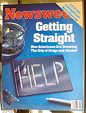 Newsweek Magazine-June 4, 1984-Getting Straight (Image1)