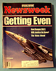 Newsweek Magazine - October 21, 1985 - Getting Even
