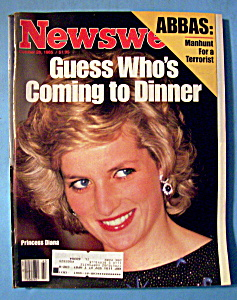 Newsweek Magazine - October 28, 1985 - Princess Diana