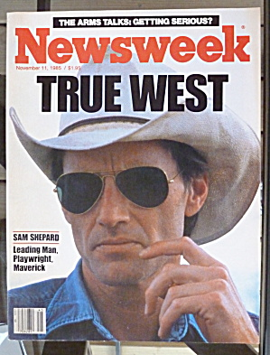Newsweek Magazine-November 11, 1985-True West (Image1)