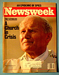 Newsweek Magazine -December 9, 1985- Pope John Paul II (Image1)