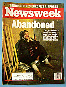 Newsweek Magazine - January 6, 1986 - Abandoned