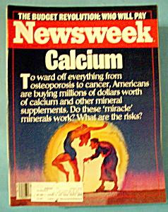 Newsweek Magazine - January 27, 1986 - Calcium (Image1)