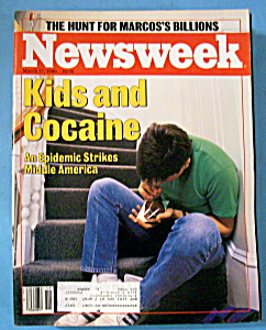 Newsweek Magazine - March 17, 1986 - Kids & Cocaine