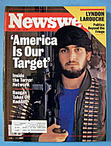 Newsweek Magazine - April 7, 1986 - Terror Network