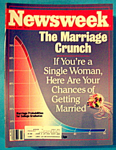 Newsweek Magazine - June 2, 1986 - The Marriage Crunch