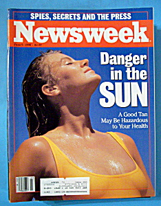 Newsweek Magazine - June 9, 1986 - Danger In The Sun