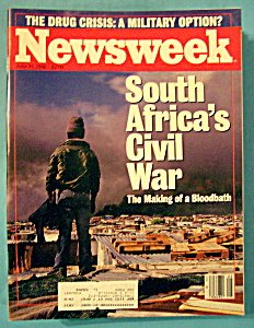 Newsweek Magazine - June 23, 1986 - South Africa