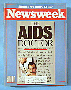 Newsweek Magazine - July 21, 1986 - The Aids Doctor
