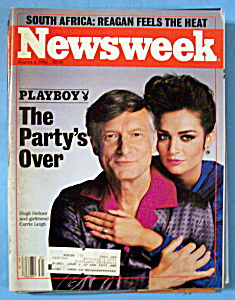 Newsweek Magazine - August 4, 1986 - Hugh Hefner