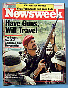Newsweek Magazine - November 3, 1986 - Mercenaries