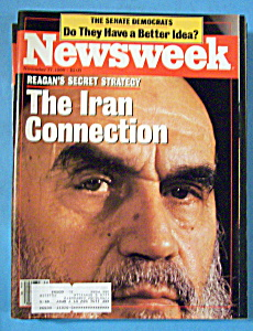 Newsweek Magazine - November 17, 1986 - Iran Connection