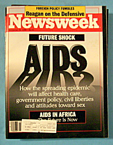 Newsweek Magazine - November 24, 1986 - Aids
