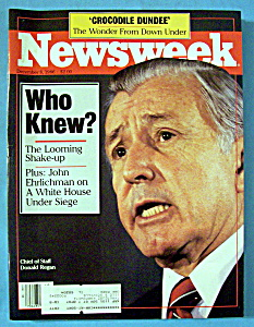 Newsweek Magazine - December 8, 1986 - Who Knew?
