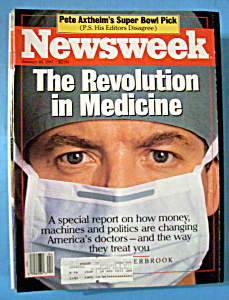 Newsweek Magazine - January 26, 1987 - Medicine