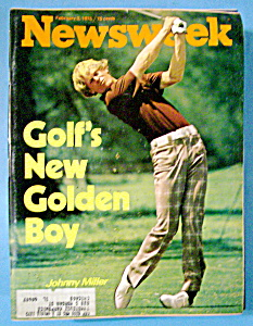 Newsweek Magazine-February 3, 1975-Johnny Miller (Image1)