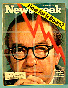 Newsweek Magazine - February 24, 1975 - How Far Is Down