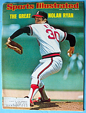 Sports Illustrated Magazine-June 16, 1975-Nolan Ryan (Image1)