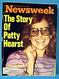 Newsweek Magazine - September 29, 1975 - Patty Hearst