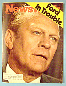 Newsweek Magazine - December 22, 1975 - Ford In Trouble