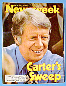 Newsweek Magazine - May 10, 1976 - Carter's Sweep