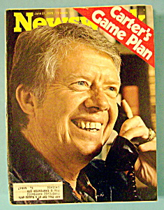Newsweek Magazine - June 21, 1976 - Carter's Game Plan