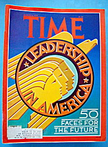Time Magazine-august 6, 1979-50 Faces For The Future