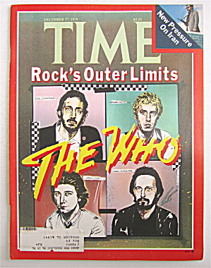 Time Magazine-december 17, 1979-rock's The Who