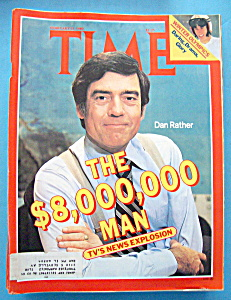 Time Magazine-february 25, 1980-dan Rather