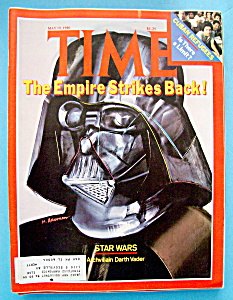 Time Magazine-may 19, 1980-star Wars (Darth Vader)