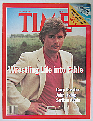 Time Magazine-august 31, 1981-john Irving