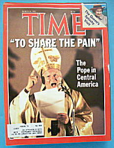 Time Magazine-march 14, 1983-the Pope