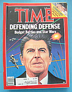 Time Magazine-april 4, 1983-defending Defense