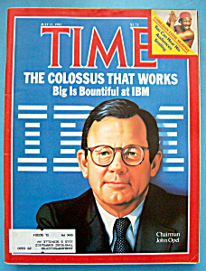 Time Magazine - July 11, 1983 - John Opel