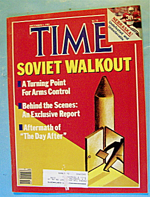 Time Magazine-december 5, 1983-soviet Walkout