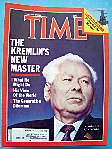 Time Magazine-february 27, 1984-konstantin Chernenko