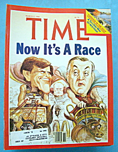 Time Magazine - March 12, 1984 - Now It's A Race