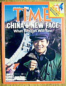 Time Magazine-april 30, 1984-china's New Face