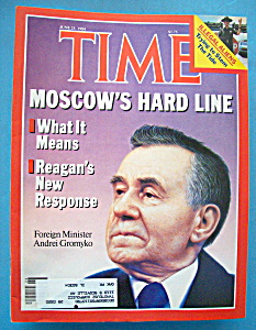 Time Magazine - June 25, 1984 - Moscow's Hard Line