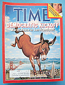 Time Magazine-july 16, 1984-democratic Kickoff