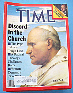 Time Magazine-february 4, 1985-john Paul Ii