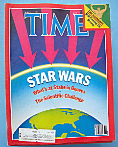 Time Magazine-march 11, 1985-star Wars