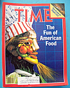 Time Magazine - August 26, 1985 - American Food
